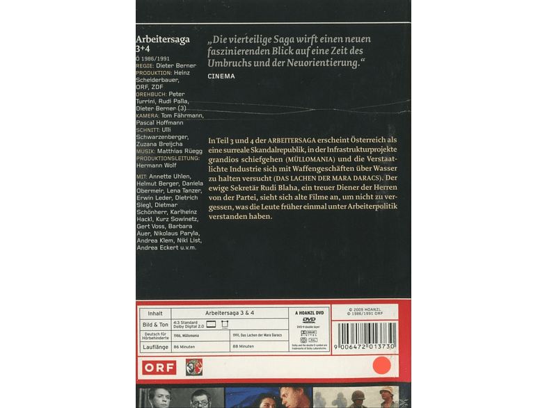 ARBEITERSAGA 3&4 [DVD]
