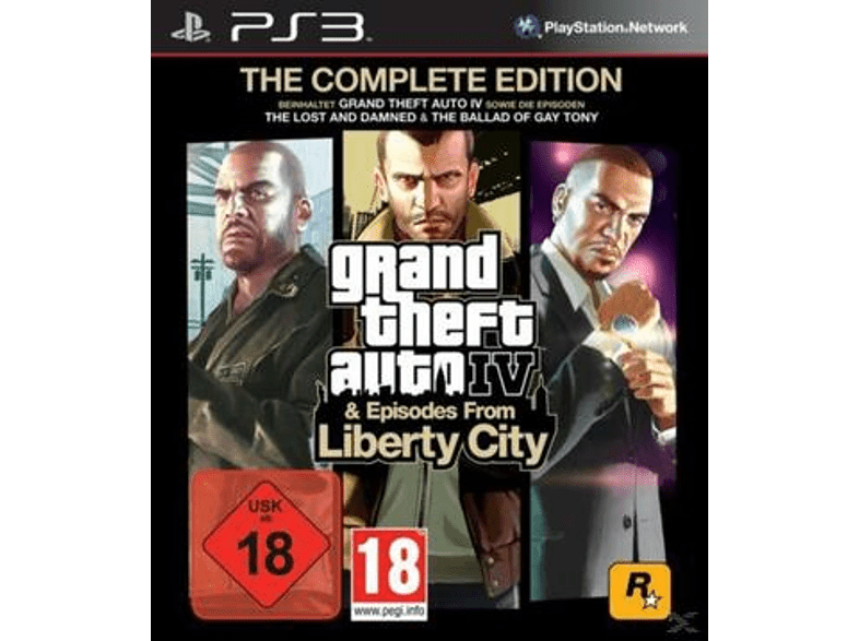Grand Theft Auto IV - Complete Edition (Software Pyramide) [PlayStation 3]