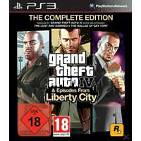 Grand Theft Auto IV - Complete Edition (Software Pyramide) - [PlayStation 3]
