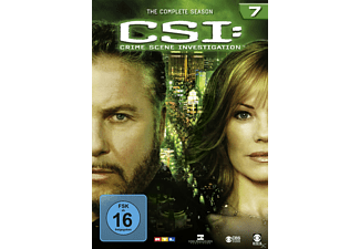 CSI: Crime Scene Investigation - Staffel 7 DVD