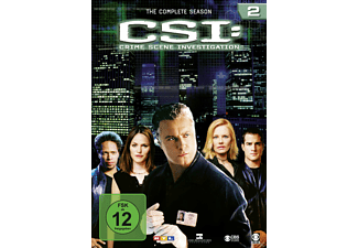 CSI: Crime Scene Investigation - Die komplette Staffel 2 [DVD]