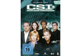 CSI: Crime Scene Investigation - Staffel 1 DVD