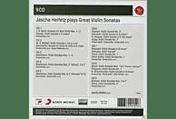 Jascha Heifetz - Jascha Heifetz Plays Sonatas For Violin [CD]