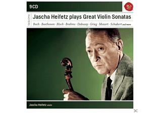 Jascha Heifetz - Jascha Heifetz Plays Sonatas For Violin - (CD)