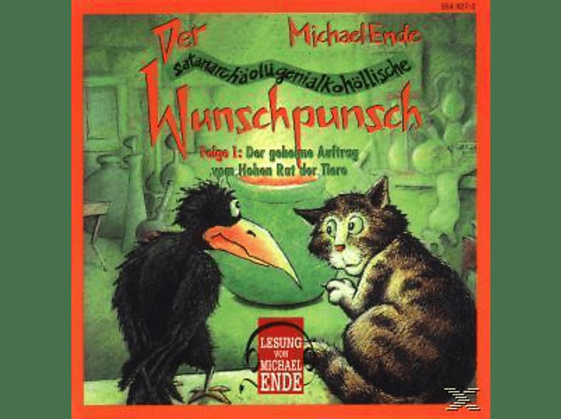 Wunschpunsch 01: Der geheime Auftrag vom Hohen Rat der Tiere - (CD)