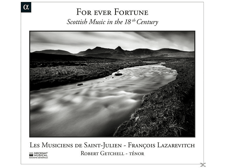 Robert Getchell, Lazarevitch/Les Musiciens de Saint-Julien/Getchel, Les Musiciens De Saint-julien - For Ever Fortune-Schott.Musik im 18.Jh. [CD]