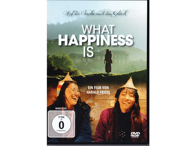 WHAT HAPPINESS IS [DVD]