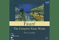 Piano Paul Crossley, Paul Crossley - SÄMTLICHE WERKE FÜR KLAVIER [CD]