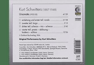 Kurt Schwitters - Ursonate  - (CD)