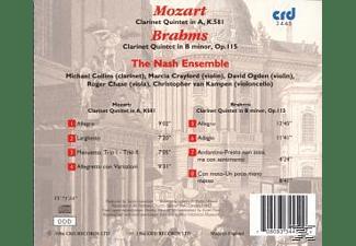 Nash Ensemble - Klarinettenquintette  - (CD)