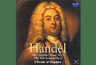 Ecoled Orphee, Ecole D'orphee - Händel Chamber Music Vol.3 [CD]