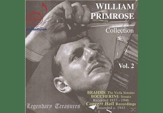 William Primrose, William Kapell, Gerald Moore, Joseph Kahn - William Primrose: Collection Vol. 2 - Legendary Treasures  - (CD)
