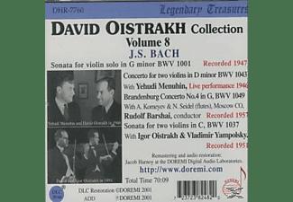 David Oistrach, Oistrach/menuhin/barshai - Oistrach Collection Vol.8  - (CD)