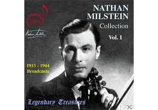 New York Philharmonic Orchestra, Nathan Milstein - Milstein Collection Vol.1  - (CD)
