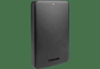 Disco duro 2 TB - Toshiba Canvio Basics, 2.5 pulgadas, USB 3.0, Negro