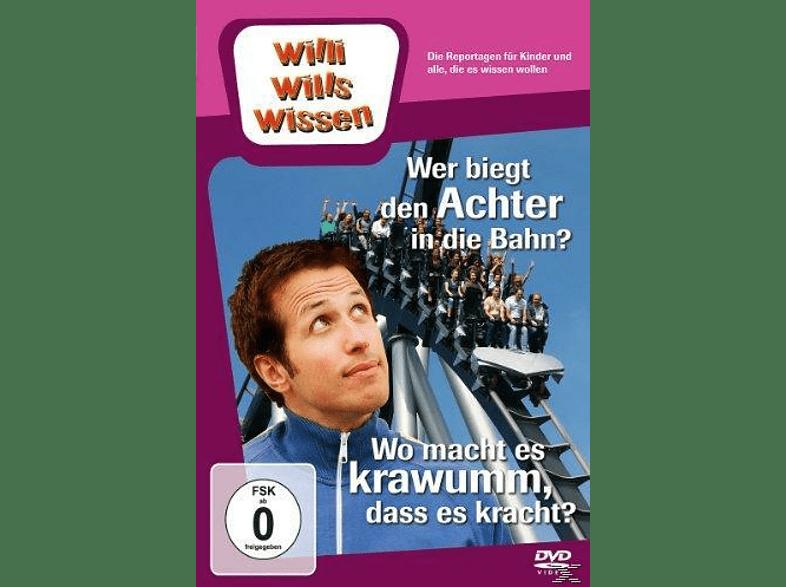 Willi will's wissen - Wer biegt den Achter in die Bahn? / Wo macht es krawumm? [DVD]