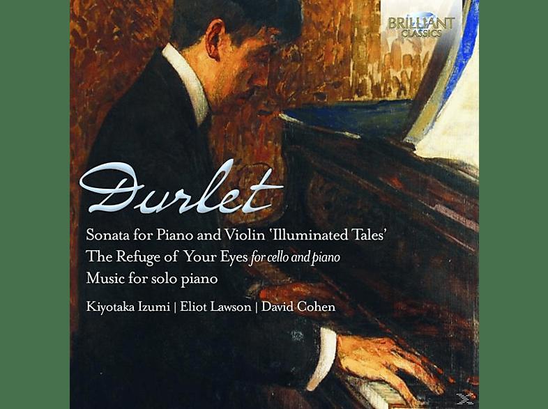 Izumi,Kyotaka/Lawson,Eliot/Cohen,David - Violin Sonata/Music For Cello And Piano [CD]