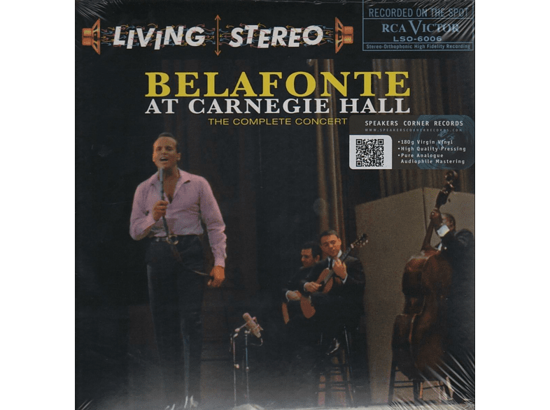 Harry Belafonte - Belafonte At Carnegie Hall [Vinyl]