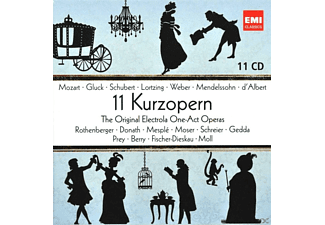 VARIOUS - 11 Kurzopern - The Original Electrola One-Act-Operas - (CD)