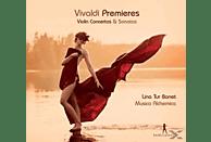 Musica Alchemica, Lina Tur Bonet - Premieres - Violin Concertos & Sonatas [CD]