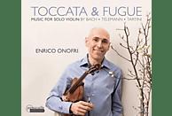 Enrico Onofri, Setsuko Sugita - Toccata & Fuge-Musik für Solovioline [CD]