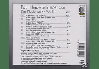 Mauser Siegfried - Klavierwerk Vol.3  - (CD)
