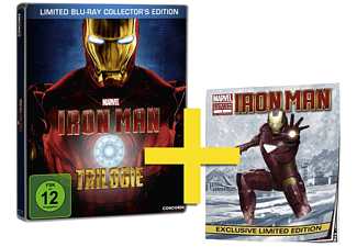Iron Man Trilogie (Limited Blu-ray Collector's Edition, Steelbook) Blu-ray