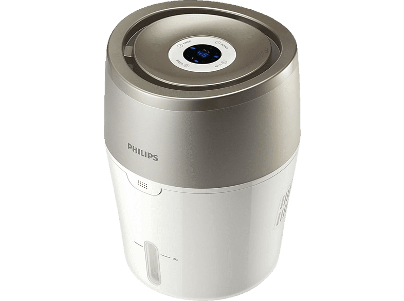 PHILIPS HU 4803/01 Luftbefeuchter Weiß/Grau/Metallic (Raumgröße: 25 m²)