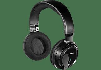 Auricular inalámbrico - Thomson WHP3001, Diadema, Para TV, Radiofrecuencia, Autonomía de 8h, Negro + Base