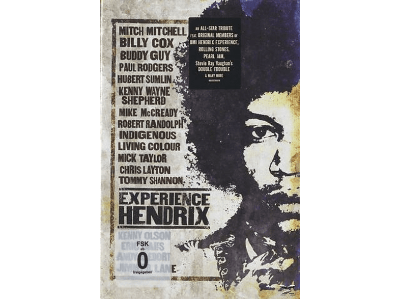 VARIOUS - Experience Hendrix [DVD]