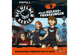 Die Wilden Kerle - Die wilden Kerle 09: Wilde Herausforderungen  - (CD)