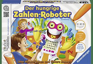 RAVENSBURGER tiptoi® Der hungrige Zahlen-Roboter tiptoi® Mehrfarbig