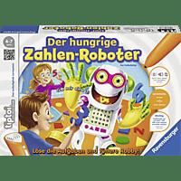 RAVENSBURGER tiptoi® Der hungrige Zahlen-Roboter tiptoi®, Mehrfarbig