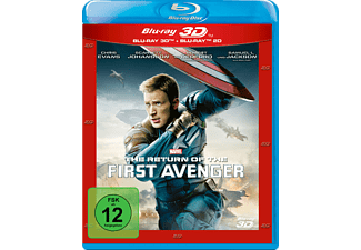Return of the First Avenger [3D BD&2D BD, Blu-Ray]