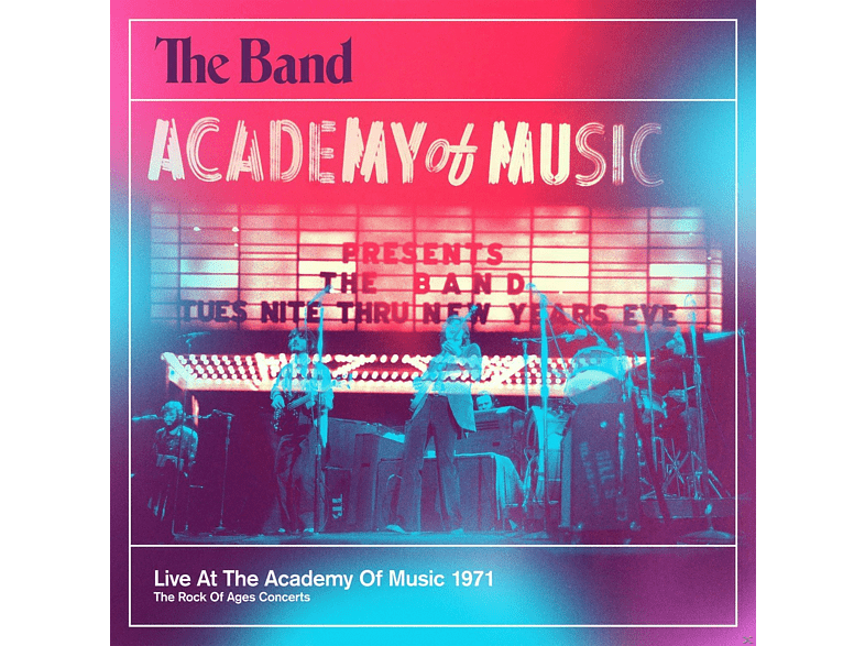 The Band - Live At The Academy Of Music 1971 (2-Cd) [CD]