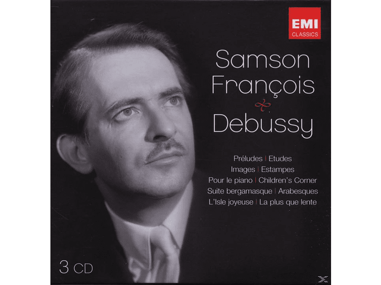 Francois Samson - The Debussy Recordings [CD]