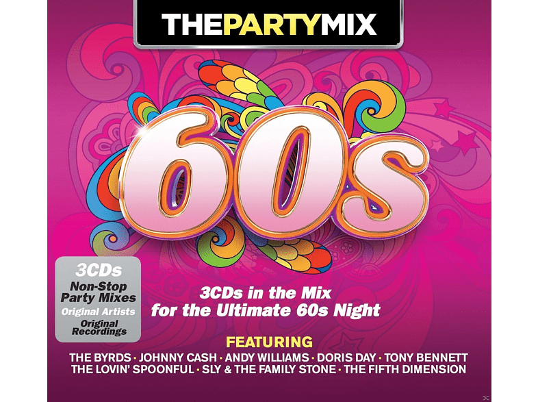 VARIOUS - Party Mix 60's [CD]