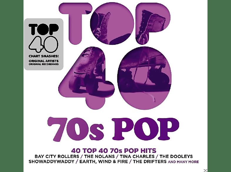 VARIOUS - Top 40-70's Pop [CD]