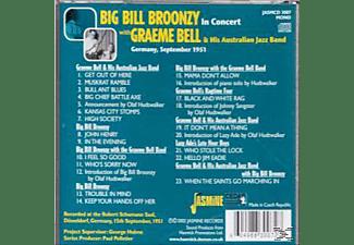 BIG BILL BROONZY/GRAEME BELL/HIS AUSTRALIEN JAZZ BAND - IN CONCERT DÜSSELDORF GERMANY  - (CD)