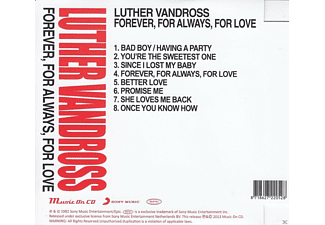 Luther Vandross - Forever,For Always,For Love  - (CD)