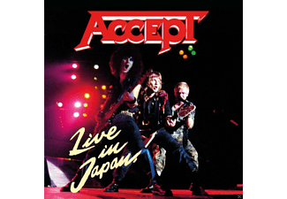 Accept - Live In Japan  - (CD)