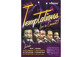 The Temptations - Live In Concert! - (DVD)