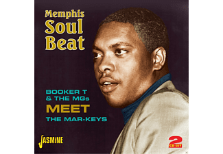 Booker T & The Mg's \ The Markeys - Memphis Soul Beat  - (CD)