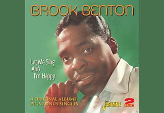 Brook Benton - Let Me Sing & I'm Happy  - (CD)