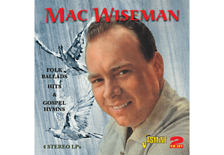 Mac Wiseman - Folk Ballads Hits & Gospel  - (CD)