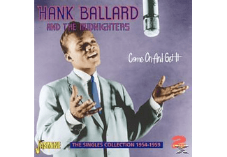 Hank Ballard - COME ON & GET IT  - (CD)