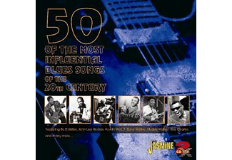 VARIOUS - 50 MOST INFLUENTIAL BLUES  - (CD)