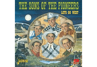 Sons Of The Pioneers - LETS GO WEST  - (CD)