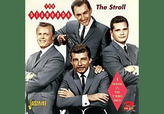 The Diamonds - STROLL. 4 ORG LP'S PLUS 17 BONUS TRACKS  - (CD)