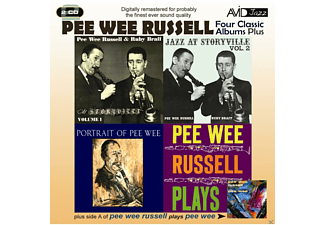 Pee Wee Russell - 4 Classic Albums Plus - (CD)